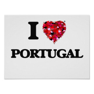 I Love Portugal Poster