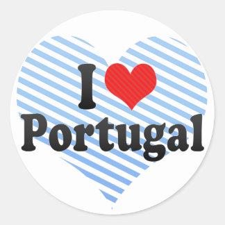 I Love Portugal Stickers