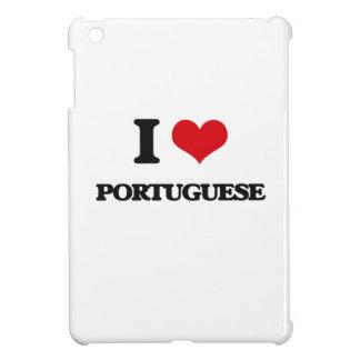 I Love Portuguese iPad Mini Cover