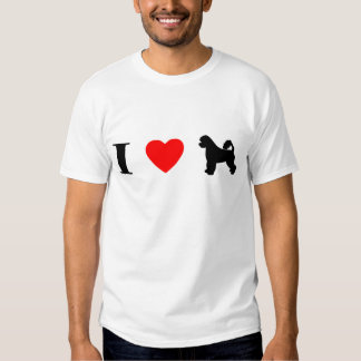 I Love Portuguese Water Dogs T-Shirt