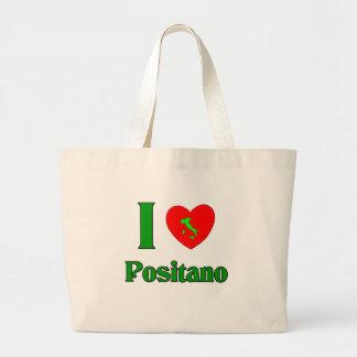 I Love Positano Italy Bags