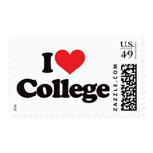 I love postage stamp