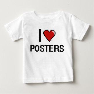 I Love Posters Digital Retro Design T-shirts
