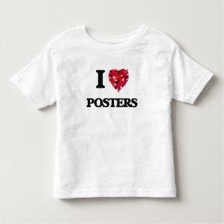 I Love Posters Tee Shirt
