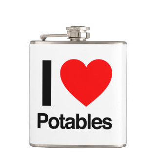 i love potables flasks