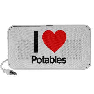 i love potables speaker
