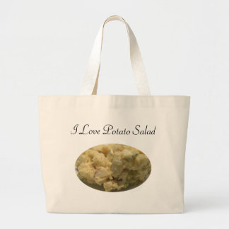 I Love Potato Salad Canvas Bag