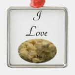 I Love Potato Salad Christmas Ornament