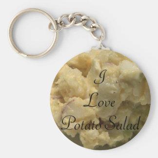 I Love Potato Salad Keychain