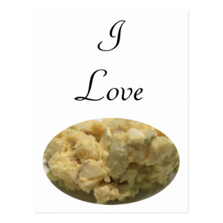 I Love Potato Salad Postcard