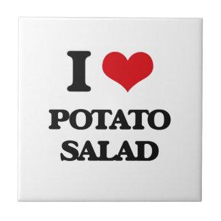 I Love Potato Salad Ceramic Tiles
