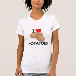 I Love Potatoes Tshirts
