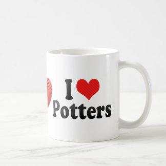 I Love Potters Coffee Mug