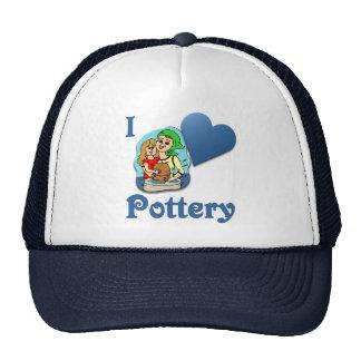 I Love Pottery #2 Hats