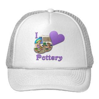 I Love Pottery #3 Hats
