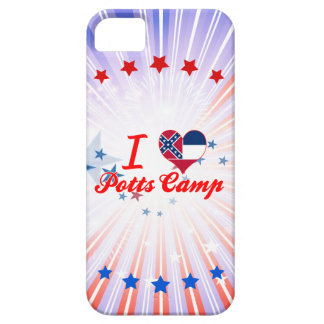 I Love Potts Camp Mississippi iPhone 5/5S Cases