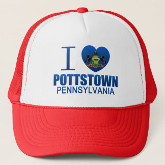 I Love Pottstown, PA Trucker Hat