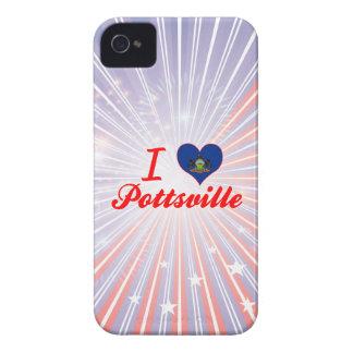 I Love Pottsville, Pennsylvania Case-Mate iPhone 4 Case