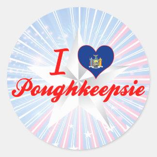 I Love Poughkeepsie, New York Sticker