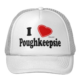 I Love Poughkeepsie Trucker Hat