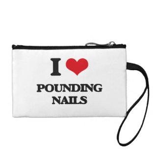 I love Pounding Nails Coin Purses