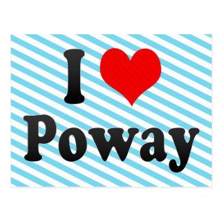 I Love Poway, United States Postcard