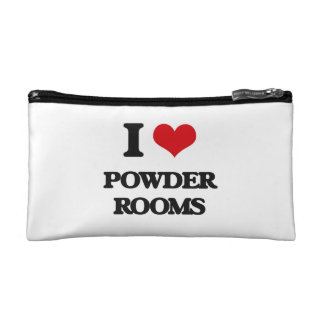 I Love Powder Rooms Cosmetic Bag