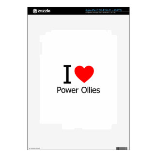 I Love Power Ollies Decals For iPad 3