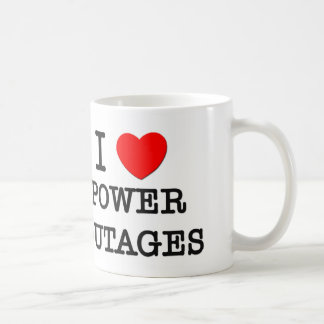 I Love Power Outages Coffee Mug