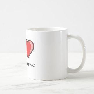 I Love Powerlifting Mug