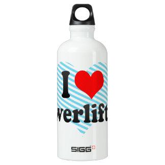 I love Powerlifting Water Bottle