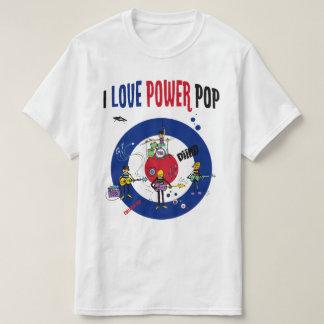 I love powerpop -B Playera