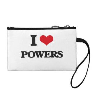 I Love Powers Change Purse