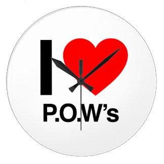 i love pow's wallclocks