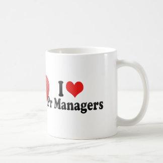 I Love Pr Managers Coffee Mug