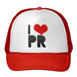 I Love PR Trucker Hat