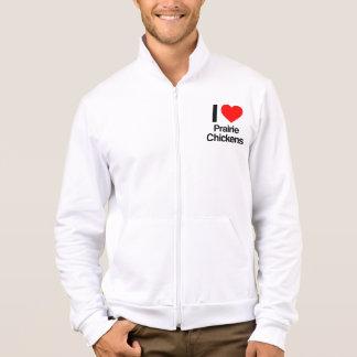 i love prairie chickens jacket
