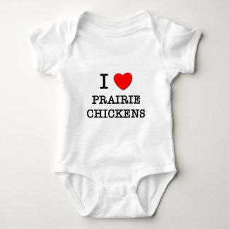I Love Prairie Chickens Infant Creeper