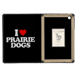 I LOVE PRAIRIE DOGS iPad MINI RETINA CASES