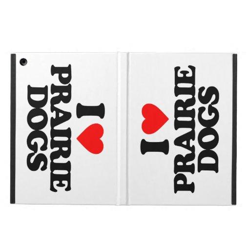 I LOVE PRAIRIE DOGS iPad AIR CASE
