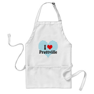 I Love Prattville, United States Adult Apron