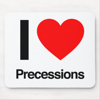 i love precessions mouse pad