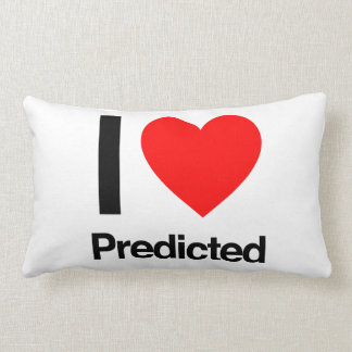 i love predicted throw pillows