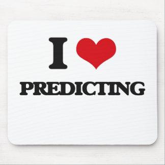 I Love Predicting Mouse Pad