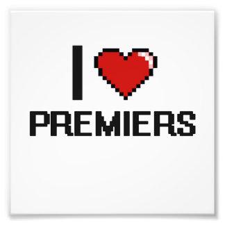 I love Premiers Photo Print