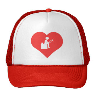 I Love Preparing Lesson Plans Trucker Hat