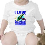 i love preschool -- Kids Apparel Baby Bodysuit