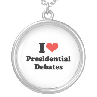 I LOVE PRESIDENTIAL DEBATES - .png Jewelry