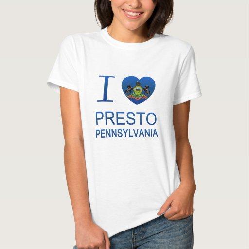 I Love Presto, PA Shirts