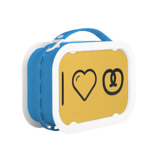 I Love Pretzels Yubo Lunchbox